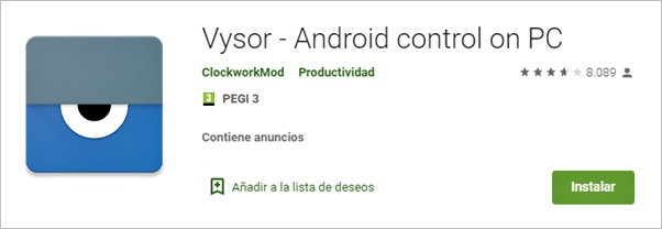 vysor-android-control-on-pc