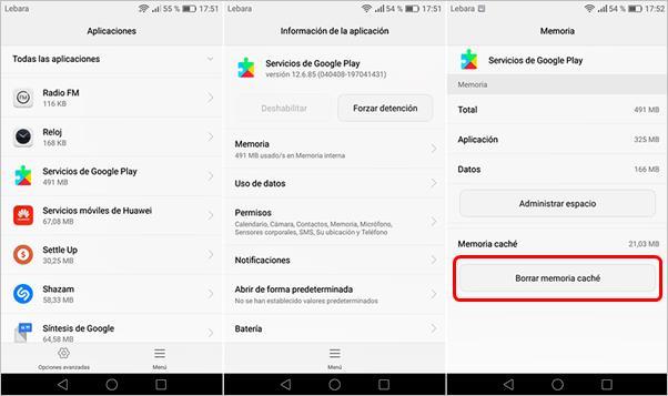 borrar-cache-servicios-google-play