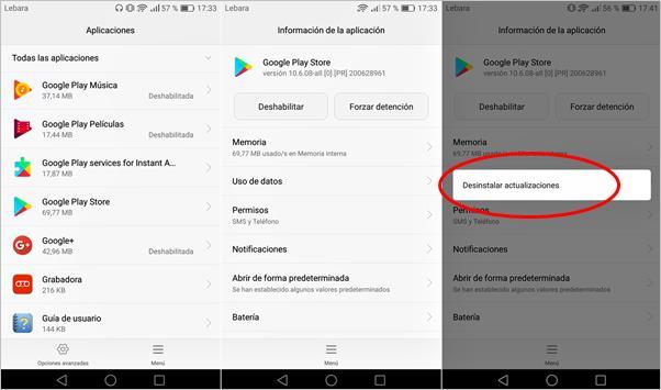 desinstalar-actualizaciones-google-play